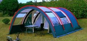 туристическое снаряжение - кемпинговая палатка