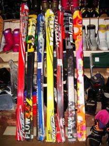 лыжи в прокат